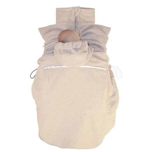 Hoppediz Fleece-cover Beige