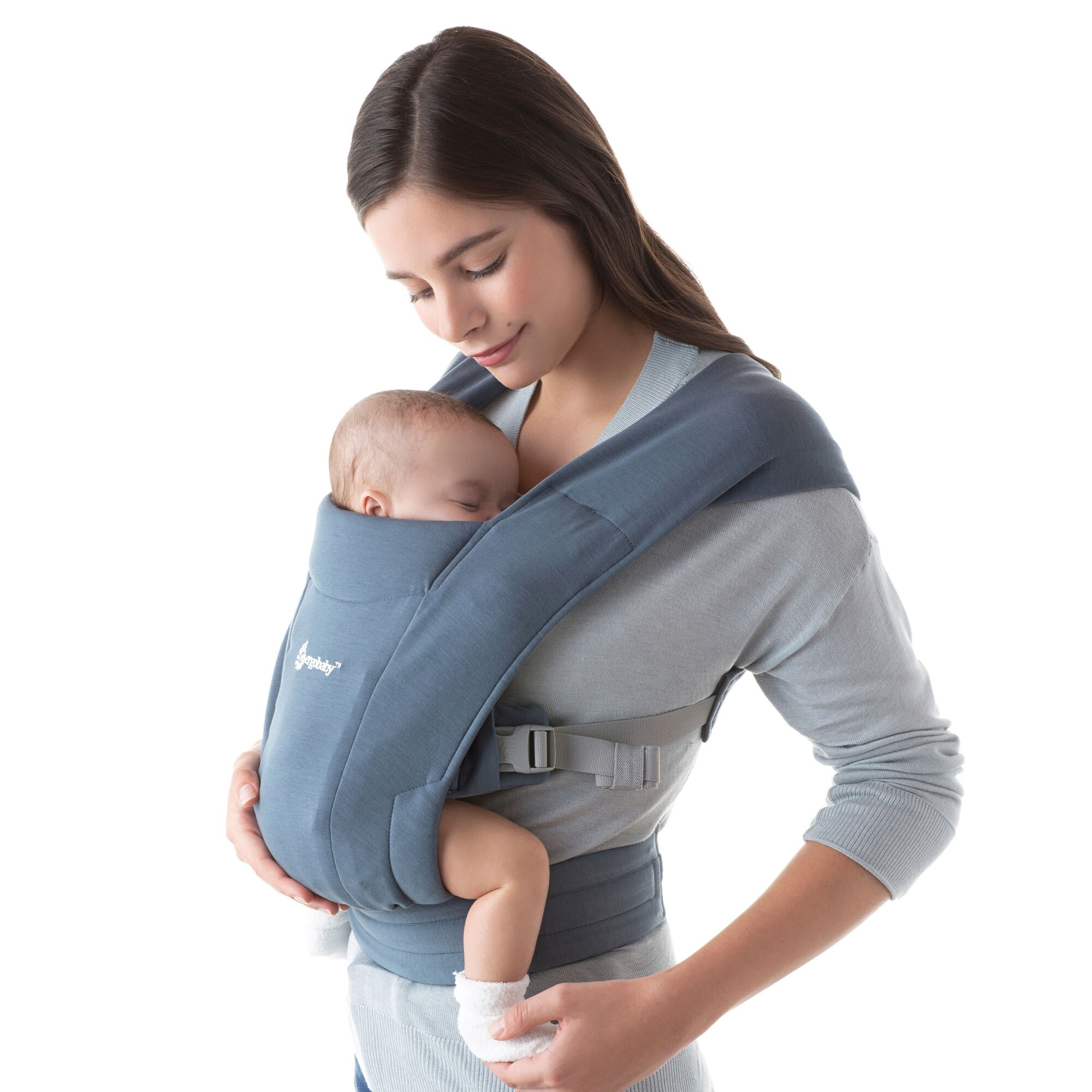Ergobaby Draagzak Embrace Oxford Blue