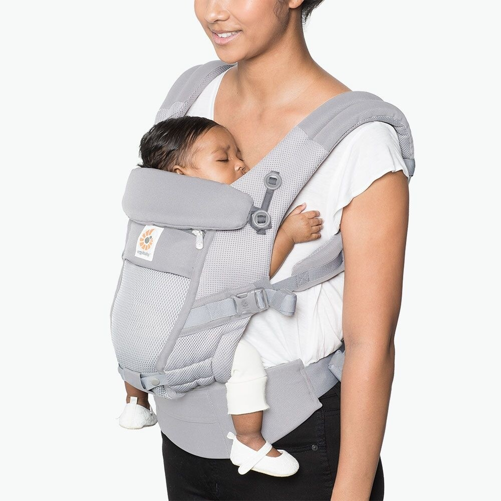 Ergobaby Draagzak Adapt 3P Cool Air Mesh Pearl Grey