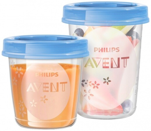 Avent moedermelk bewaarbekers 240 ml